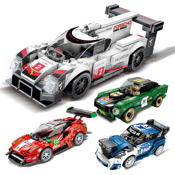Legoingly technic City Super Racers Speed Champions 2019 Supercar Racing Car model Building Blocks Bricks Kids Toys sets  D28