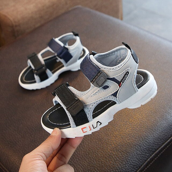 ULKNN Girls sandals 2019 new fashion casual boys shoes summer baby soft bottom girls children's Sandalies wholesale