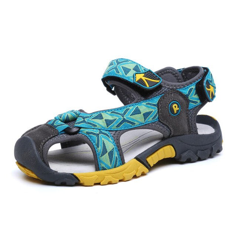 Mudipanda Boys beach shoes 3-12 years old kids sandals summer 4 leather 5 children's sandals 6-7 children 8 soft shoes