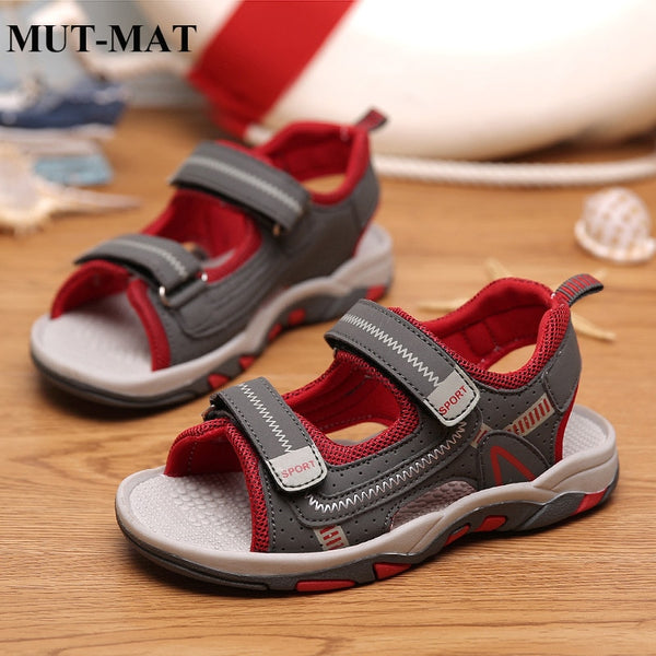 2019 summer new children's sandals summer children's shoes beach shoes soft bottom non-slip boys shoes sandals