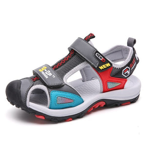 Mudipanda Boy Sandals Children's Summer 2019 New Child Fashion Boy Baotou Slip Kid's Shoes Sandals size 27-38