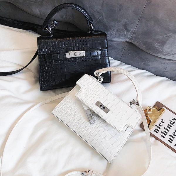 2019 Crocodile Crossbody Bags For Women Luxury Handbags Designer Famous Brand Bolsa Feminina Messenger Shoulder Bag Ladies Sac A