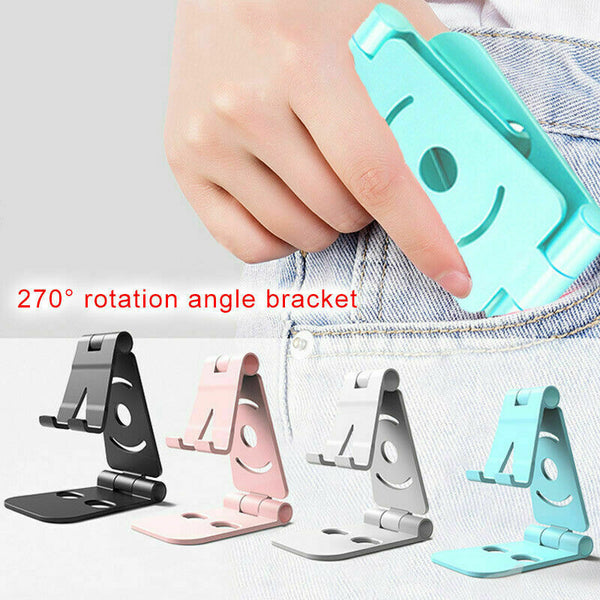 2019 New Universal Mobile Phone Holder Stand  iPad Table Lazy hand-free Cellphone Holder Stander Phone Charging Stand Cradle