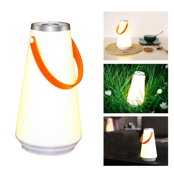 LED Creative Night Light Home Table Lamp USB Rechargeable Portable Wireless Touch Switch Outdoor Camping Emergency Light