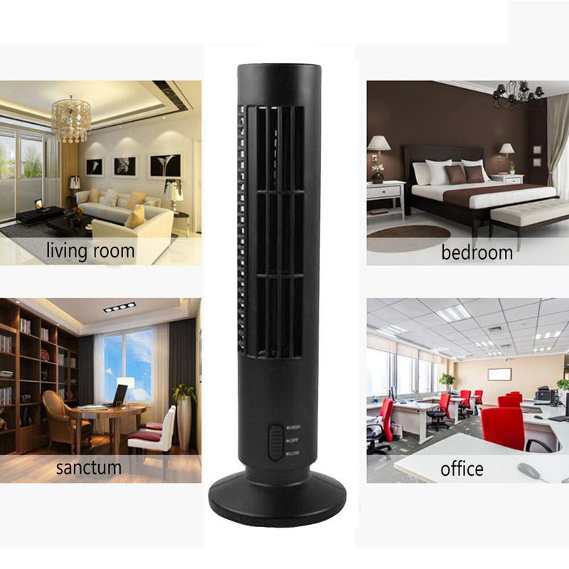 Summer  cute  New Mini Portable USB Cooling Air Conditioner Purifier Tower Bladeless Desk Fan C611