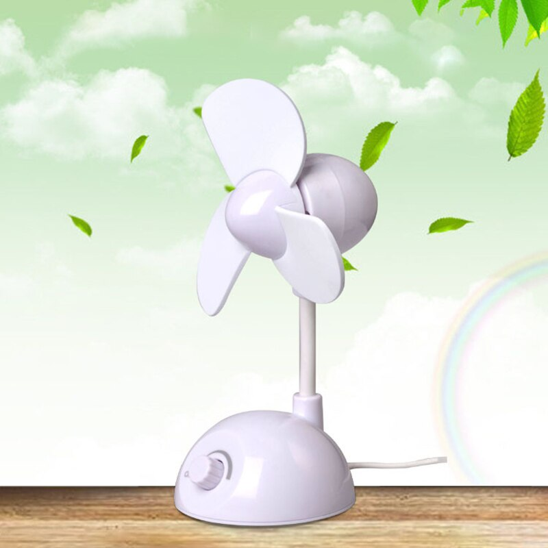 Mini USB Fan Cool Air Conditioner Fan Desk USB Cooler Fan For Laptop Desktop Computer Home Office
