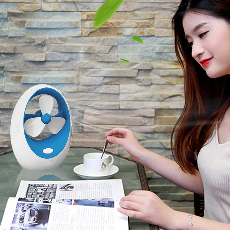 Portable Mini Air Fan Cooler Conditioner USB Desktop Easy Cool RechargeableFans19Mar21     Cooling Fan MiniPortable Fan