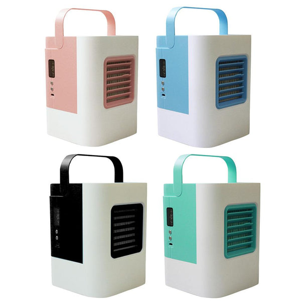 Mini Air Conditioning Fan USB Rechargeable Air Cooler Compact Portable Conditioner Cooler
