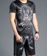 Men's Tracksuit Summer Casual Sporting suit 2 Piece Set S965
