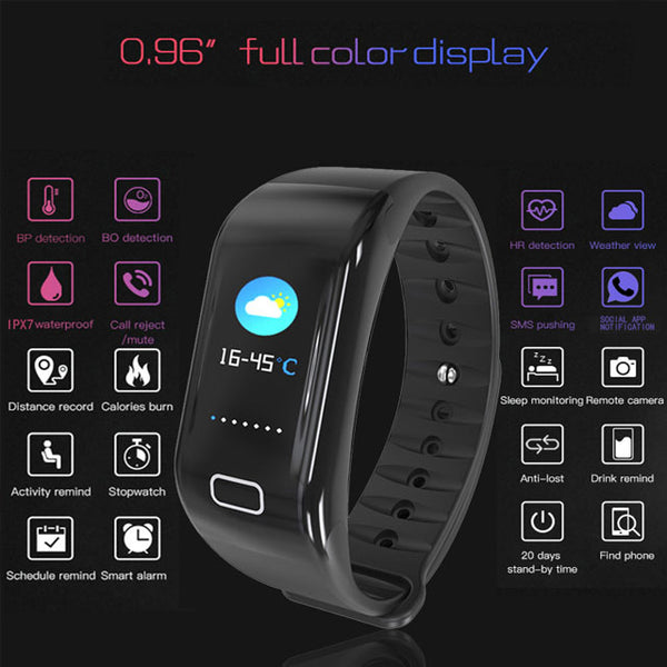 [h10PLUS سوار ذكي] Accurate All-in-One Color Screen Fitness Wristband - Your Life Assistant on the Wrist