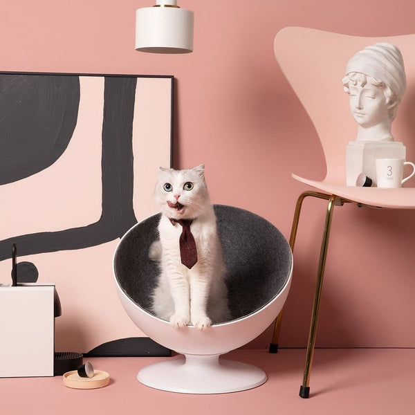 Cat Boss Rotating Interactive Cat nest