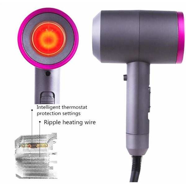 Premuim 3-In-1 Negative Ionic Hair Dryer