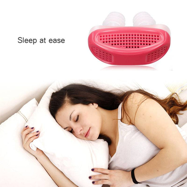 (Buy 1 Get 2 FREE)New Electric Anti Snoring Device Sleep Snore Stopper
