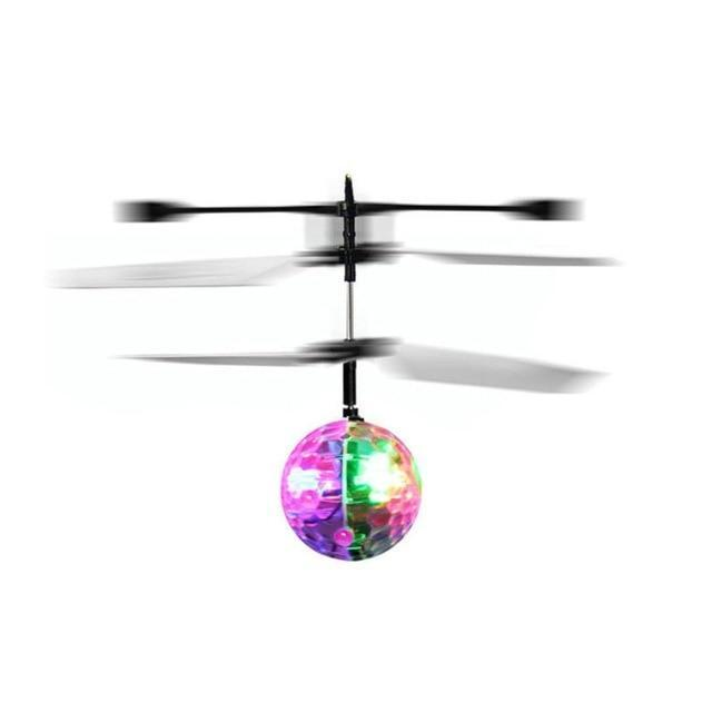 Magical Flying UFO Rainbow Ball