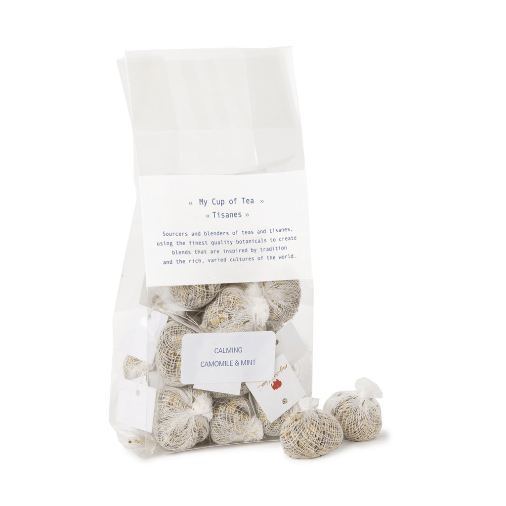 Camomile & Mint Muslin Teabags