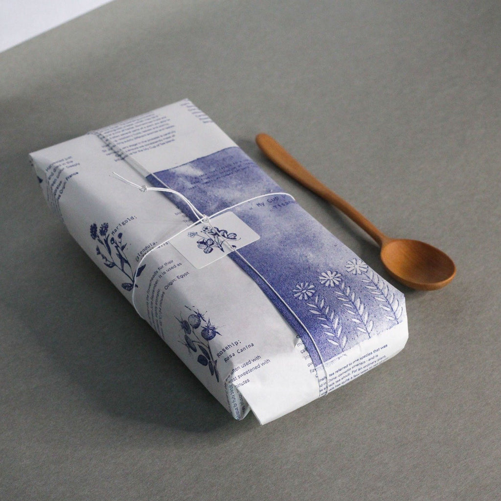 Tisane Muslin Teabags + Wooden Spoon
