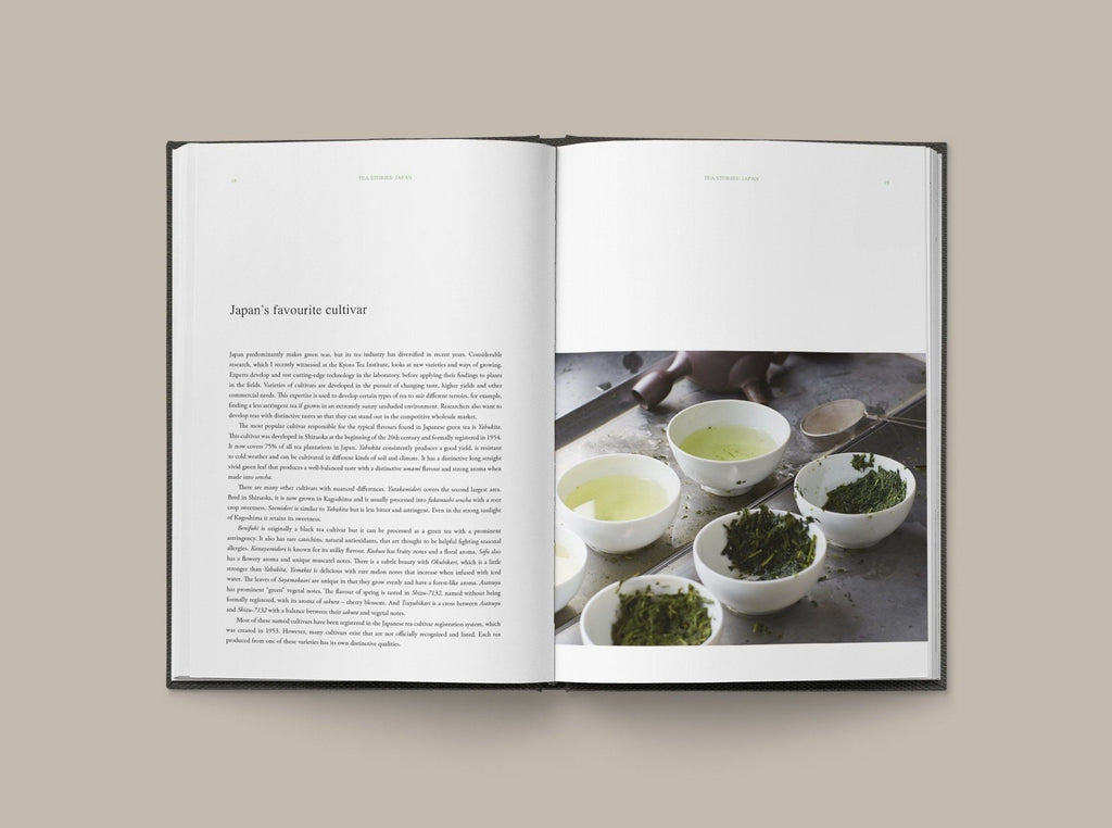 Tea Stories: JAPAN Book