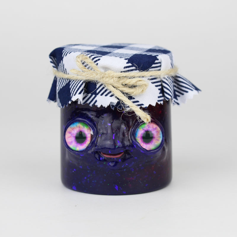 Briggs the Enchanted Blueberry Jam Jar
