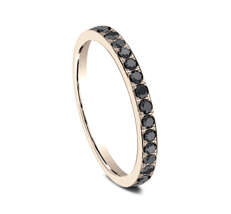 2mm Black Diamond Stackable Band