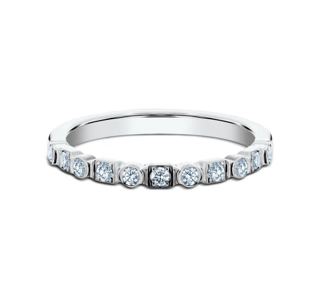 2.5mm Multi-shaped Diamond Stackable Band