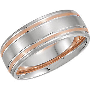7 mm Gold Comfort-Fit Grooved Band