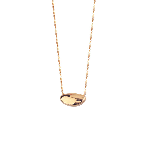 14K Golden Stone Necklace