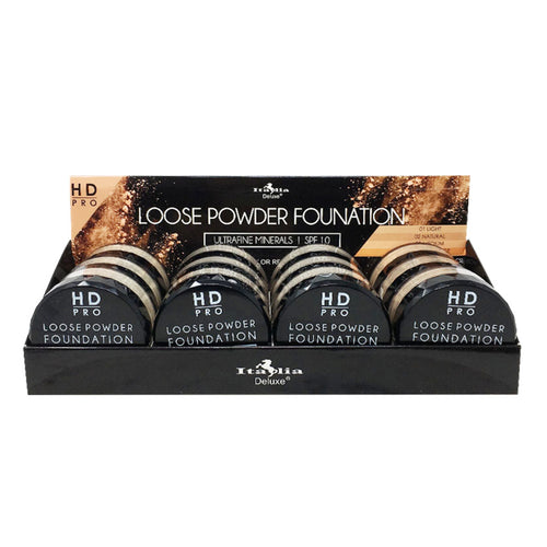 Italia Deluxe - HD Pro Loose Powder Foundation