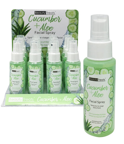 Beautytreats Cucumber & aloe facial spray