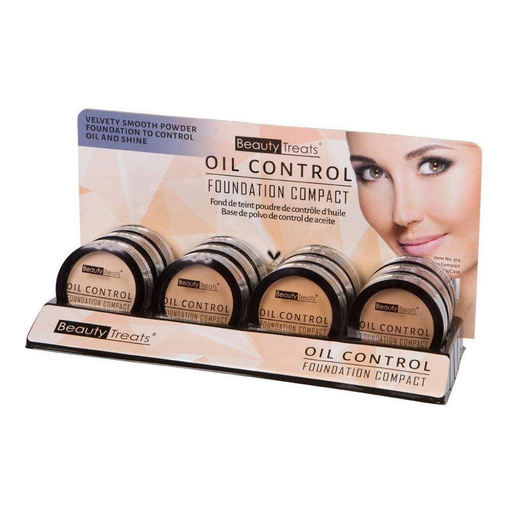 Beauty Treats - Oil Control Foundation Compact