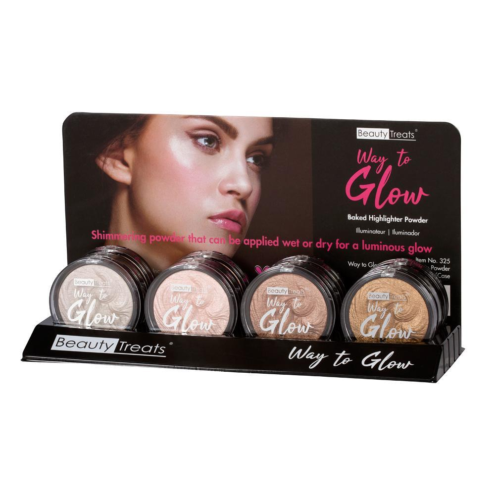 Beauty Treats - Way to Glow Baked Highlighter/Bronzer
