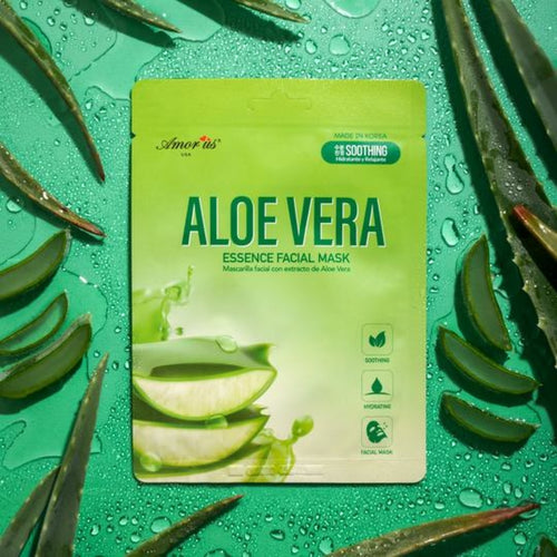 Amorus - Face Sheet Mask - Aloe Vera