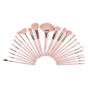 Beauty Creation - Pretty In Pink 24 piece Brush Set - B24PP