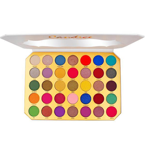 Candice - Be Coqueta 35 Colors Eyeshadow Palette