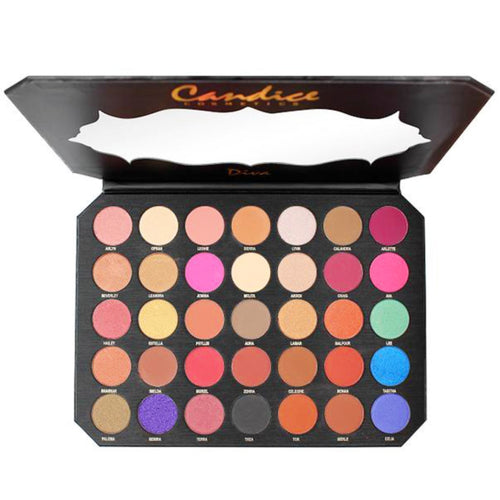 Candice - Be Diva 35 Colors Eyeshadow Palette