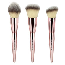 Load image into Gallery viewer, Kleancolor - Stop & Smell The Roses-3 Piece Face Brush Set