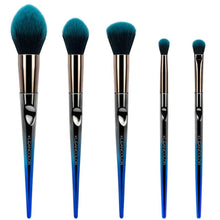Load image into Gallery viewer, Kleancolor - Daily Essentials-5 Piece Face & Eye Brush Set