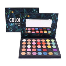 Load image into Gallery viewer, Okalan - Color Burst 35 Color Eyeshadow Palette