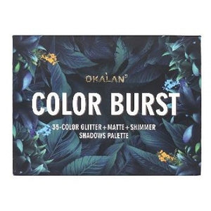 Okalan - Color Burst 35 Color Eyeshadow Palette