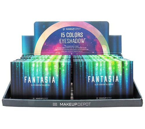 Makeupdepot 15 color palette - Fantasia