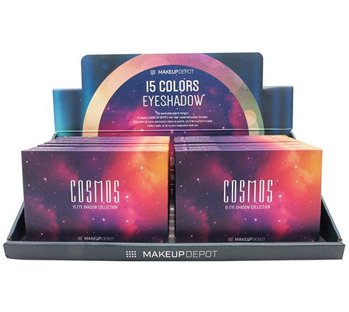 Makeupdepot 15 color palette - Cosmos