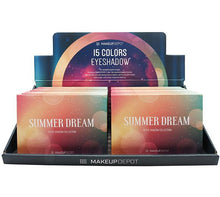 Load image into Gallery viewer, Makeupdepot 15 color palette - Summer dream