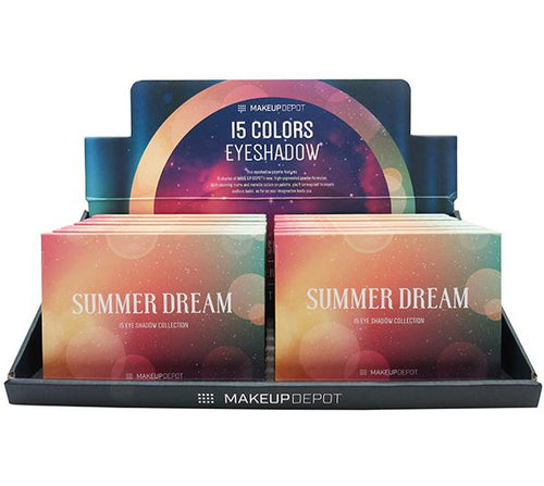 Makeupdepot 15 color palette - Summer dream