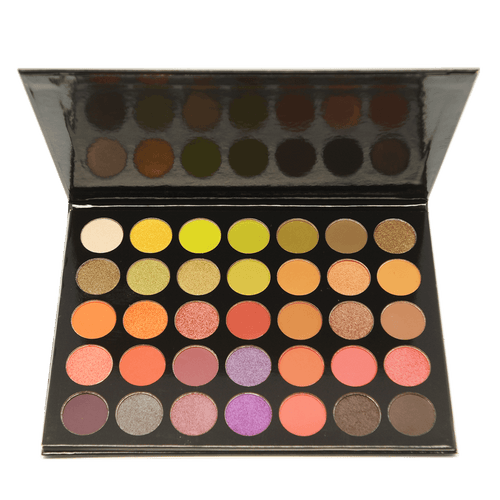 Makeupdepot 35 color palette - Black Book