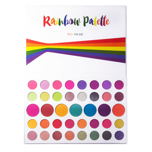 Makeupdepot 39 color palette - Rainbow Palette