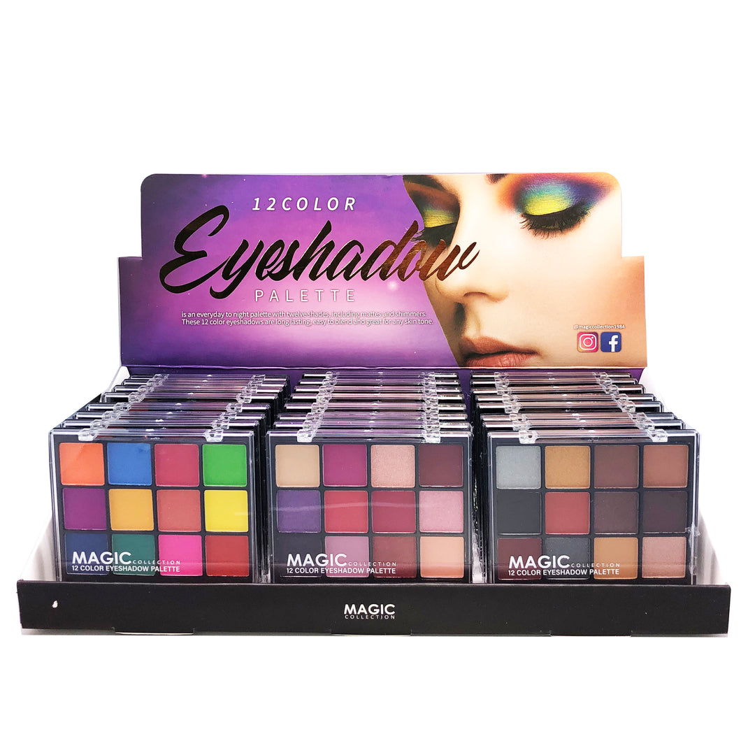 Magic 12 color eyeshadow palette