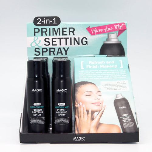 Magic 2 in 1 primer & setting spray