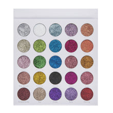 Load image into Gallery viewer, Lurella - Glaze 25 Color Glitter Eyeshadow Palette