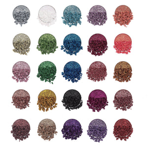 Lurella - Glaze 25 Color Glitter Eyeshadow Palette