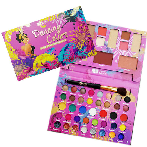 Malibu Glitz - Dancing Colors 51 Color Makeup Palette