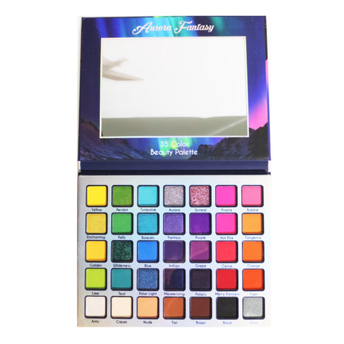 Malibu Glitz - Aurora Fantasy 35 Color Beauty Palette